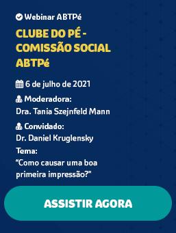 CLUBE DO PÉ #21 – COMISSÃO SOCIAL ABTPé