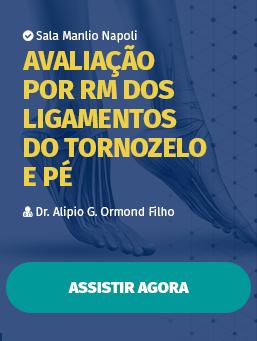 Avaliação por RM dos ligamentos do Tornozelo e Pé