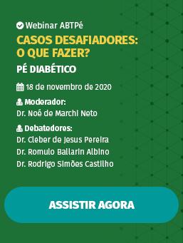 Webinar #04 - Pé Diabético - Casos desafiadores